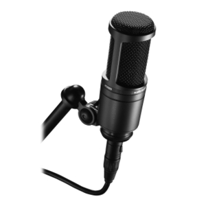 Microfone condensador cardióide Audio Technica AT 2020