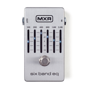 Pedal MXR Dunlop Six Band EQ