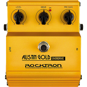 Pedal Rocktron Austin Gold Overdrive