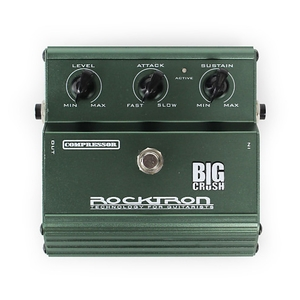 Pedal Rocktron Big Crush Compressor Guitar/Bass