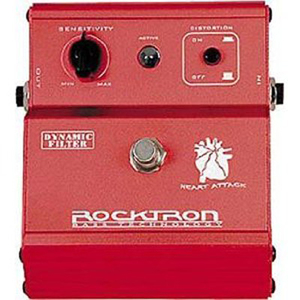 Pedal Rocktron Heart Attack Dynamic Filter Effects