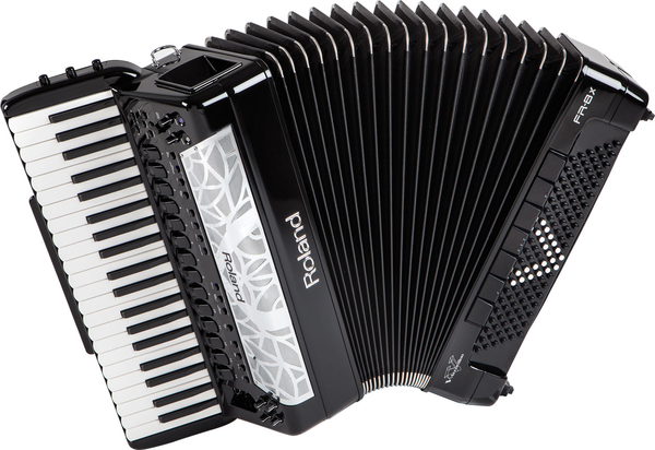 Acordeon Roland FR 8 X BK Com Bag Original