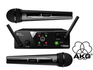 Sistema sem Fio Akg Wms 40 Mini 2 Vocal
