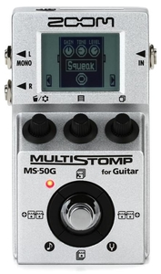 Pedal Zoom MS 50 G MultiStomp Multi-effects Pedal