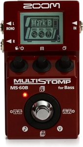 Pedal Zoom MS 60 B Multistomp Bass Pedal Multi-effects