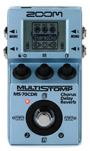 Pedal Zoom MS 70 CDR Multistomp Chorus/Delay/Reverb Pedal