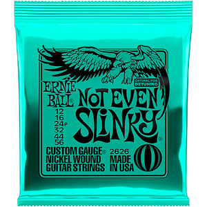 Encordoamento Guitarra Ernie Ball .012 / .056 2626 Not Even Slinky