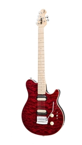 Guitarra Sterling Sub Axis AX 3 By Music Man - Trans Red