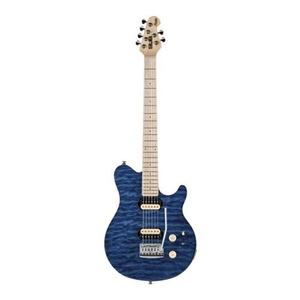 Guitarra Sterling Sub Axis AX 3 By Music Man - Trans Blue
