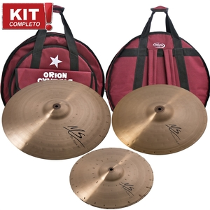Kit De Pratos Orion Mainstream MS 80 131519 B10 Com Bag