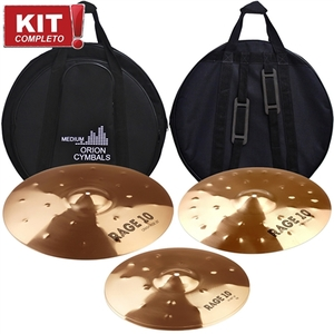 Kit Pratos Orion Rage 10 Full Set Rg 70 141620Com Bag