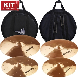 Kit De Pratos Orion Rev Pro10 RV 103 14161820 Com Bag