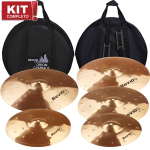 Kit De Pratos Orion Rev Pro 10 RV 102 1214161820 + Bag