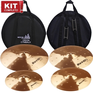 Kit De Pratos Orion Rev Pro 10 RV 101 12141620 + Bag