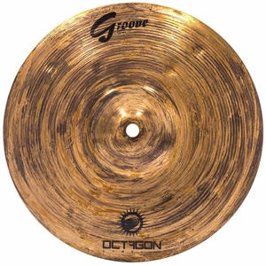 Prato Octagon Groove GR10SP Splash 10 Bronze