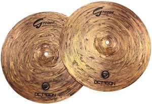 Prato Octagon Groove GR13HH Power Hi Hat 13