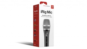 Microfone Ik Multimedia Irig Mic Iphone Ipad Ipod Touch e Andróide