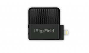 Microfone Ik Multimedia Irig Mic Field - iPhone, iPad e iPod touch