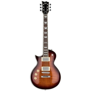 Guitarra ESP LTD EC 256 FM LH DBSB Dark Brown Sunburst (Canhota)
