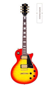 Guitarra SX EH 3 D Les Paul CS (Cherry Sunburst)