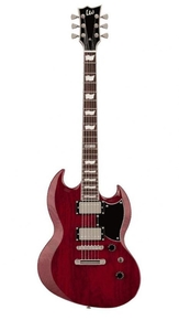 Guitarra ESP LTD Viper 256 STBC (See Thru Black Cherry)