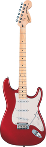 Guitarra Fender 032 1602 Squier Standard Strato - 509 - Candy Apple Red