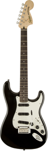 Guitarra Fender 031 0510 Squier Deluxe Hot Rails Strat LR - 506 - Black