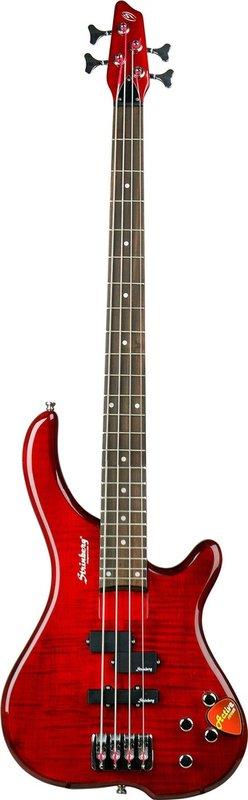 Baixo Elétrico Lb Vermelho 4 Cordas - Clb44a