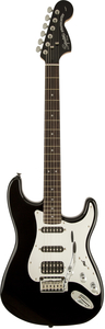 Guitarra Fender 037 1703 Squier Black And Chrome Strat HSS LR - 506 - Black Mirror