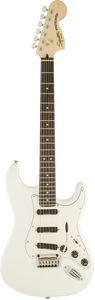 Guitarra Fender 031 0510 Squier Deluxe Hot Rails Strat LR - 505 - Olympic White