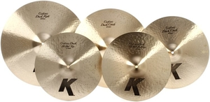 Kit Pratos Zildjian Gospel K Custom Dark Series - KCD900 - 14+16+18+20