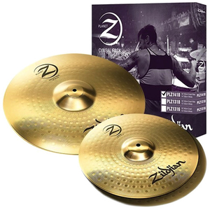 Kit Pratos Zildjian Planet Z - PLZ1418 - 14HH+18Crash/Ride