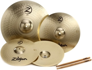 Kit Pratos Zildjian Planet Z - PLZ4PK - 14HH+18Crash+20Ride