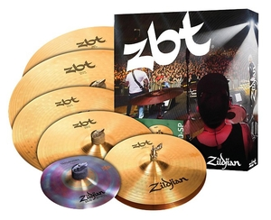 Kit Pratos Zildjian ZBT 390 Super Pack -ZBTP390-SP - 14HH+14+16+18+20+10