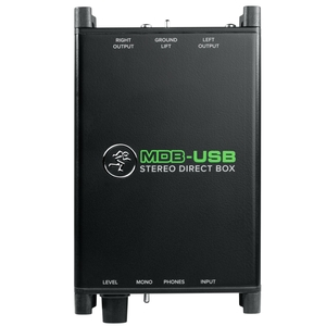 Direct Box Mackie MDB USB Stéreo