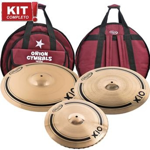 Kit De Pratos Orion X10 Spx 70 Spx15hh/spx18rc/spx21rd - C/bag