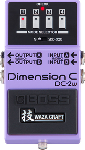 Pedal Boss DC 2W Dimension C Waza Craft (JAPAN)