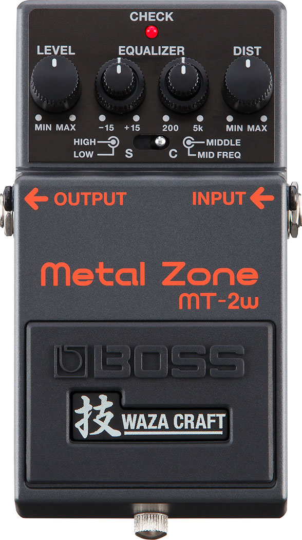 Pedal Boss MT 2W Metal Zone Waza Craft Made in Japan