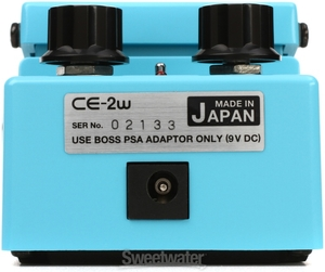 Pedal Boss CE 2W Chorus Waza Craft 40Th Made in Japan