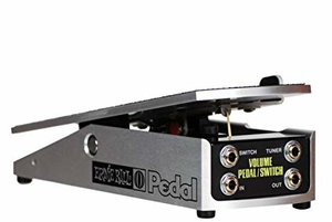 Pedal de Volume Ernie Ball PO6168 250K Mono Switch Passivo
