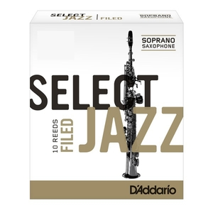 Palheta Select Jazz Sax Soprano Rsf1ssx2m 2 Medium Filed