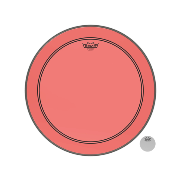 Pele Bumbo Remo Powerstroke3 20 P3 1320 Ct Rd Colortone Red