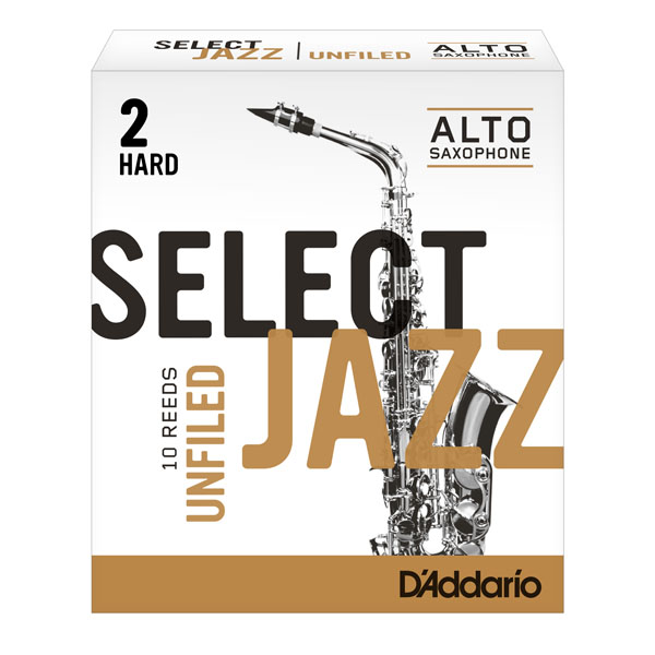 Palheta Select Jazz Sax Alto Rrs1asx2h 2 Hard Unfiled
