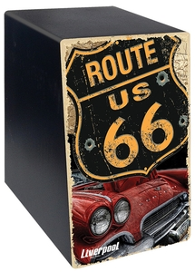 Mini Cajon Liverpool CAJ Route US 66