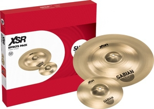 Kit Prato Sabian XSE 5005 EB Effects Pack 10 Splash + 1 Unidade 8 Chinese