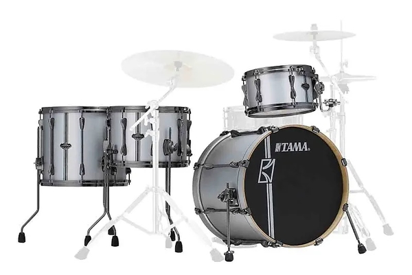 Bateria Tama Superstar Hyper Drive Duo ML 40 HZBN 2 SSV Shell Pack