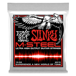 Encordoamento Ernie Ball Guitarra 010-052  M-Stell PO2915