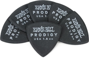 Palhetas Shield Prodigy 1.5MM Pretas Pct C/6  Ernie Ball – PO9331