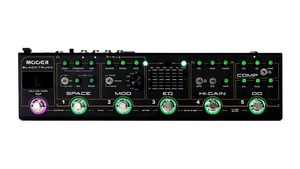 Pedaleira Mooer Black Truck Multi-Effects CPT2 C/Case