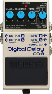Pedal Boss DD 8 Digital Delay